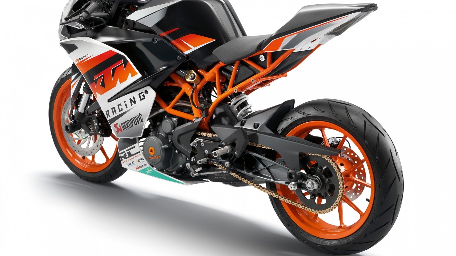 KTM RC 390 Bike 2014 HD Wallpaper   iHD Wallpapers 1600x900
