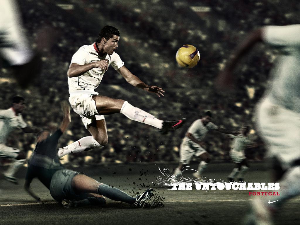 Cristiano Ronaldo Real Madrid 1024x768