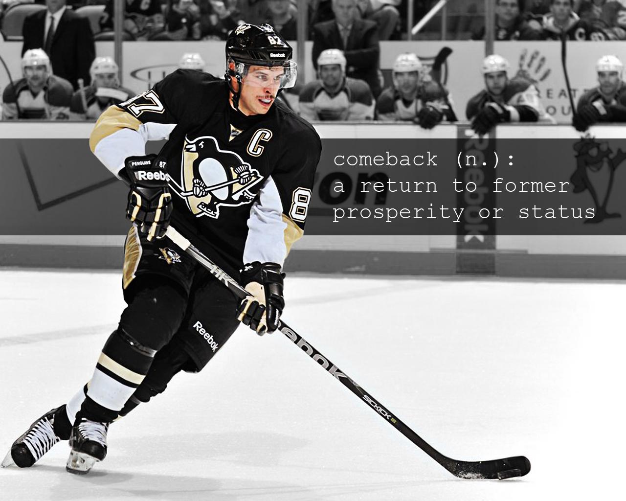 Sidney Crosby Comeback Wallpaper 1280x1024