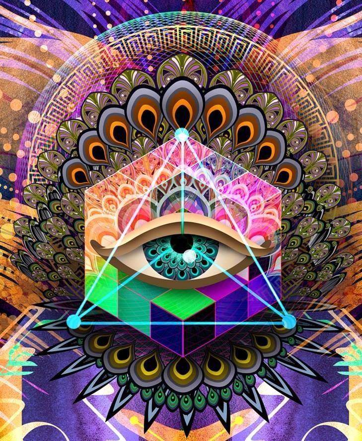 [50+] Trippy Illuminati Wallpaper on WallpaperSafari