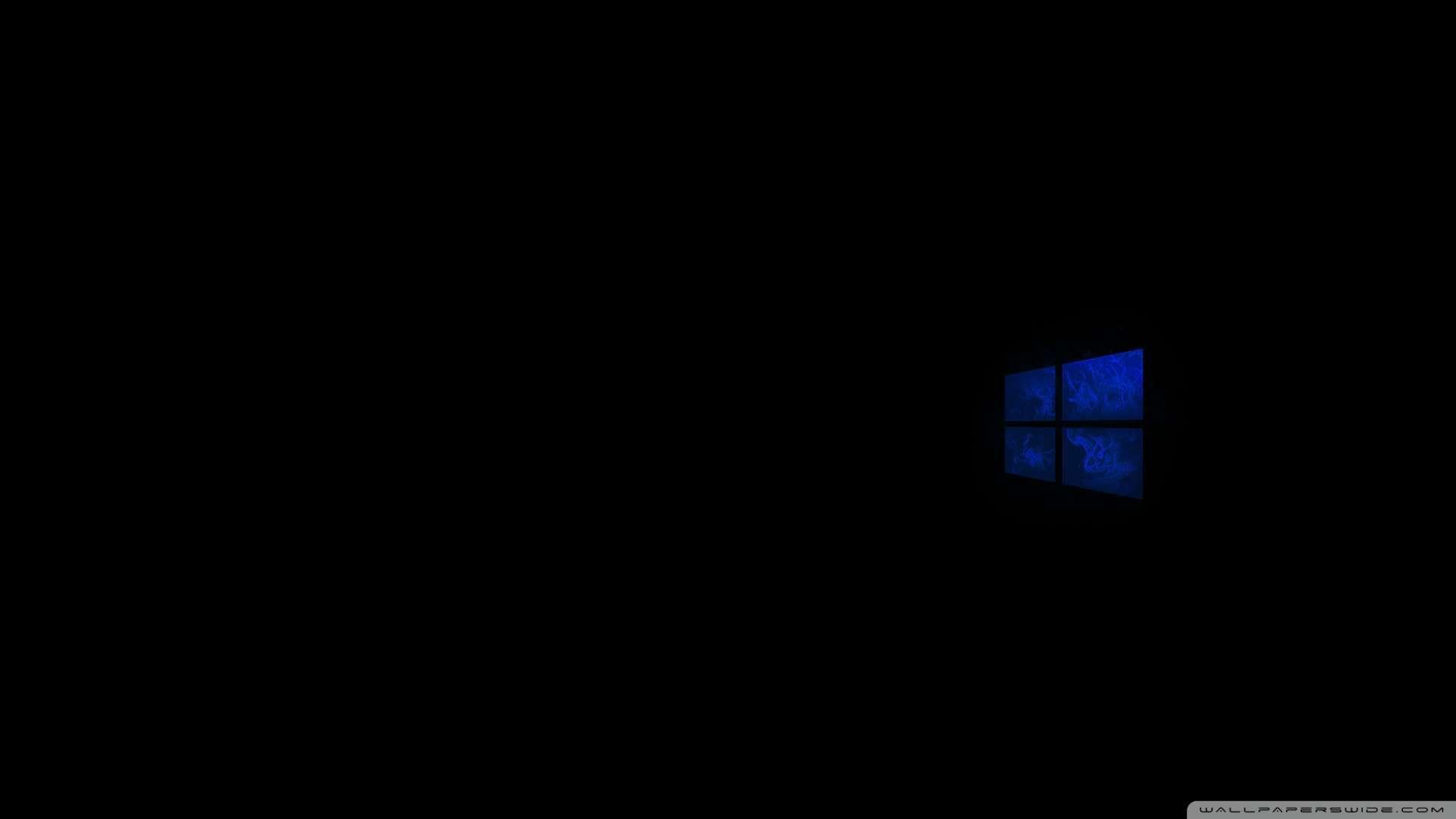 Black Windows Wallpaper 1080p: [48+] Windows 10 HD Dark Wallpaper On WallpaperSafari