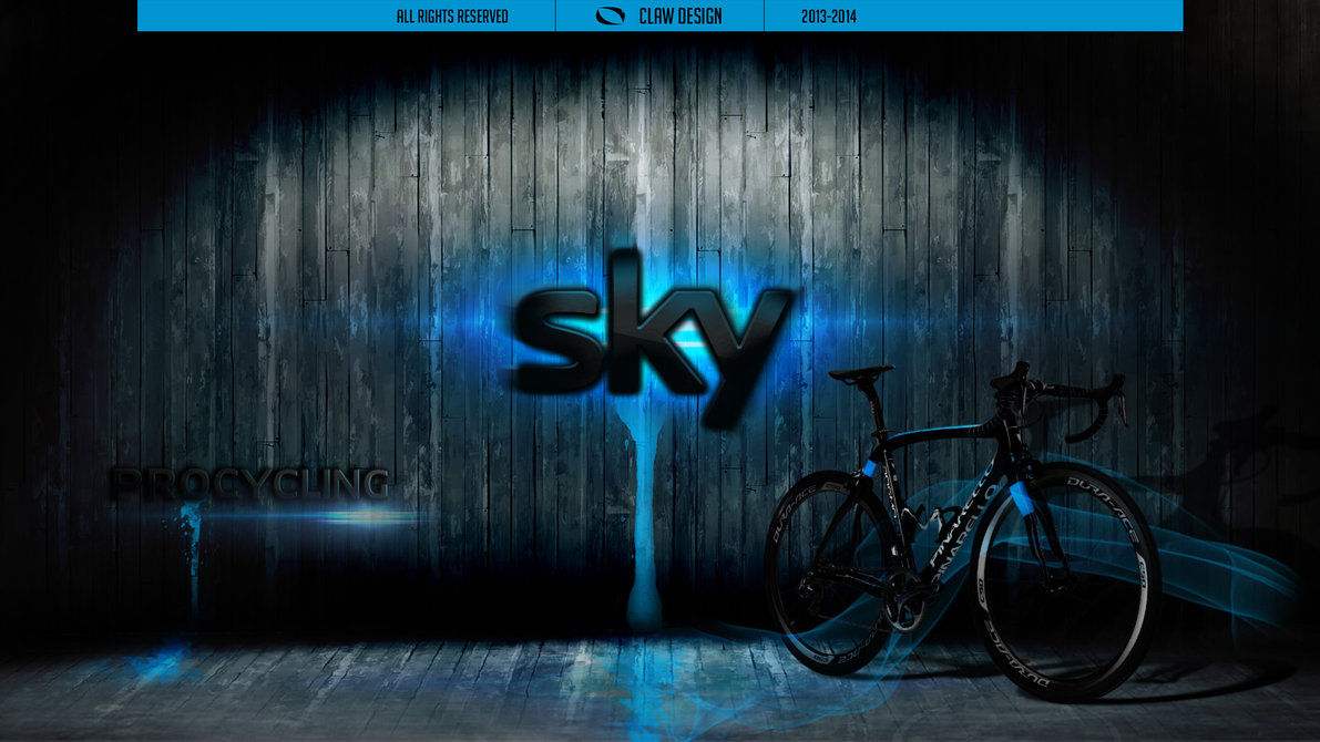Sky Procycling wallpaper by ClawDesign 1191x670
