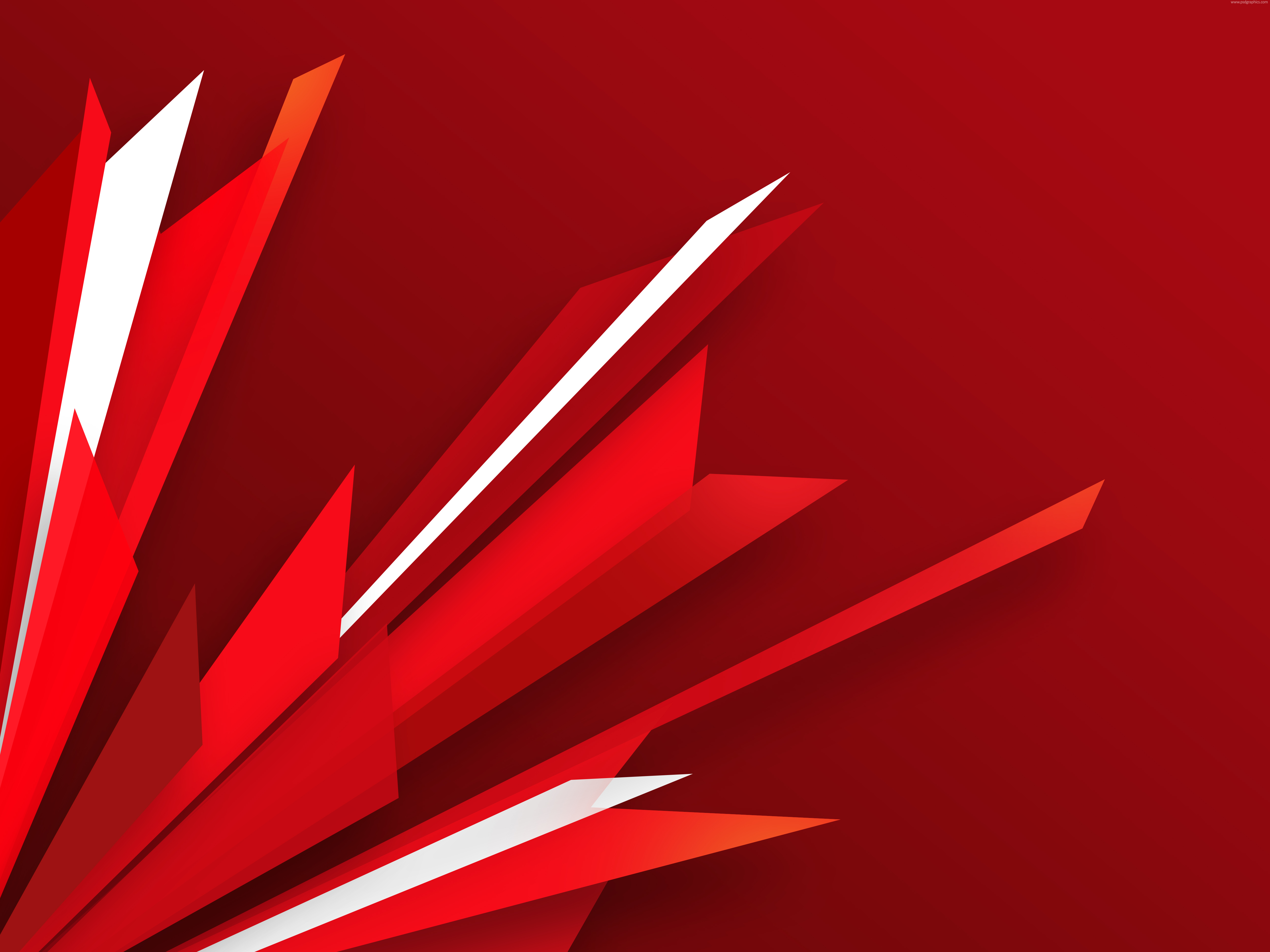 Abstract red burst background PSDGraphics 5000x3750