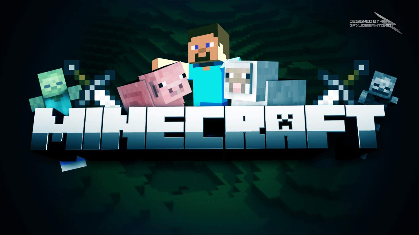 Awesome Minecraft Wallpapers 1366x768