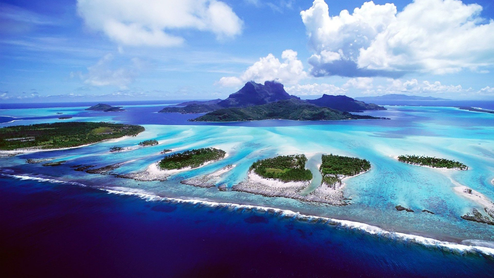 Bora Bora wallpaper 2599 1920x1080