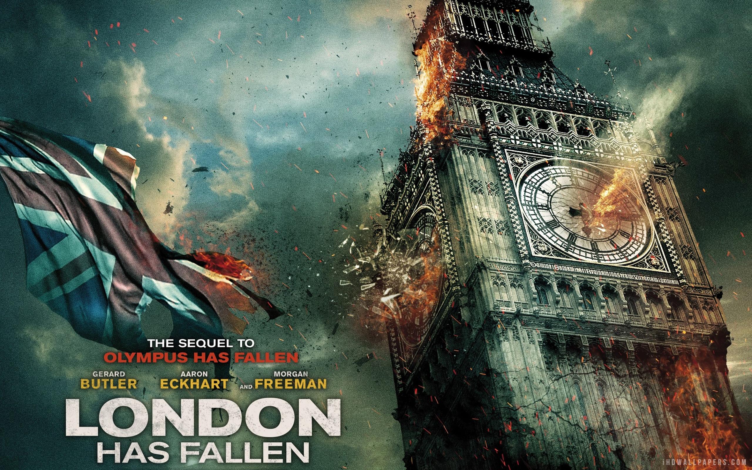 London Has Fallen Wallpaper 2560x1600