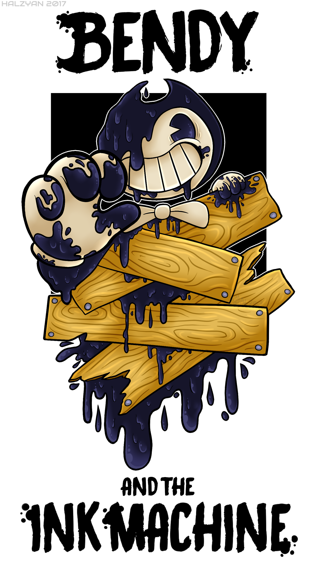 bendy and the ink machine Tumblr Bendy and the Ink Machine 1067x1920