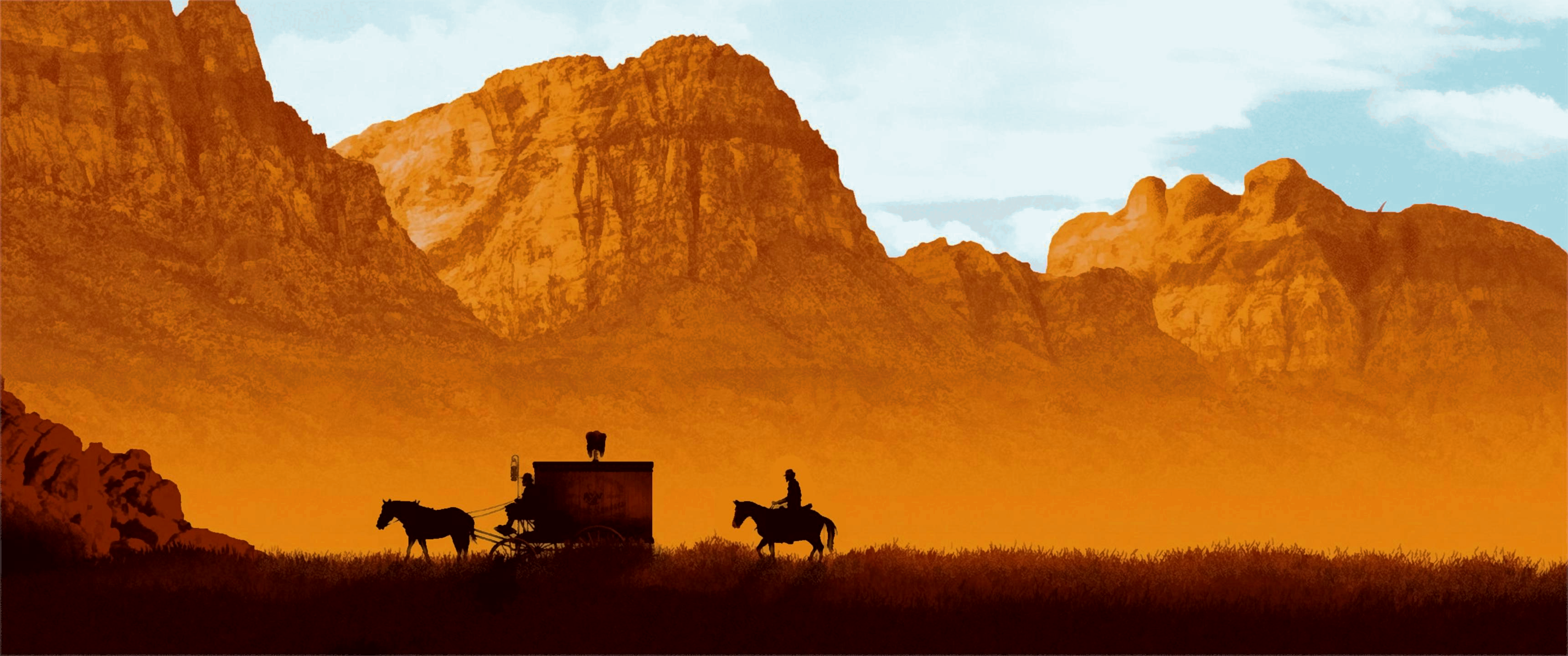 [50] Django Unchained [3440x1440] Music IndieArtist Chicago 3440x1440