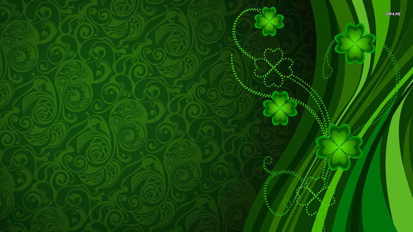 Clovers wallpaper   Holiday wallpapers   2149 1366x768