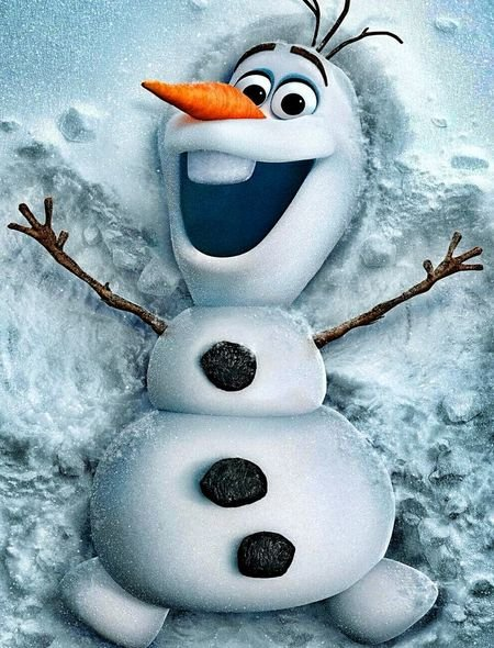 Olaf from Frozen Wallpaper for Phones and Tablets 450x590