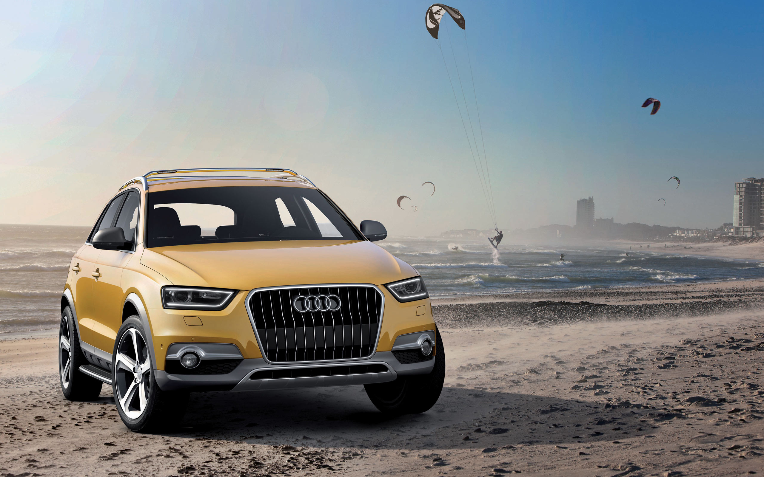 Audi Q3 Jinlong Yuneng Concept Wallpaper HD Car Wallpapers ID 2560x1600
