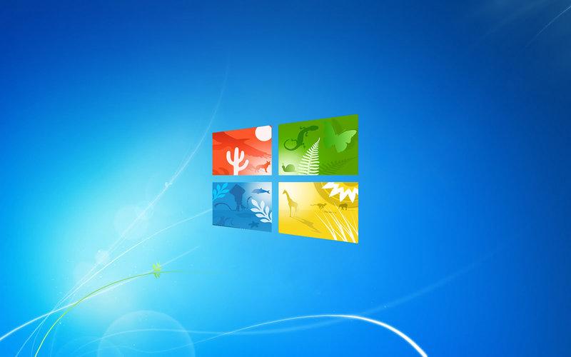 Windows 8 Official Wallpaper Desktop Wallpapers 1024x1024: Windows 7 Official Wallpapers