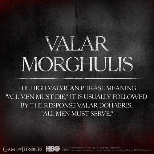 httpwallpapershotstkvalar morghulis game of thrones 500x500