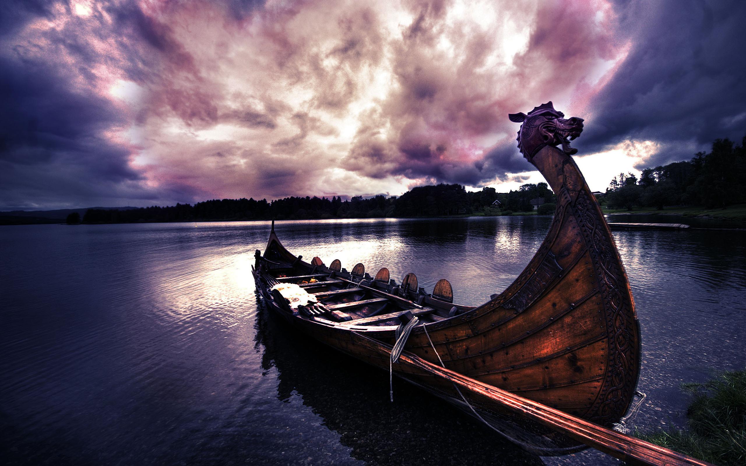 Viking Boat Wallpaper 2560x1600 Wallpapers 3d for desktop 3d 2560x1600