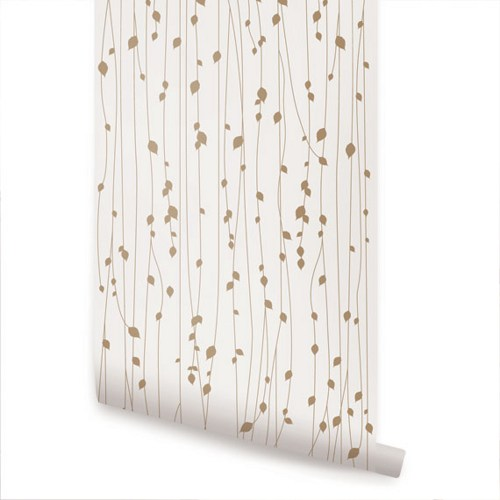 Self stick wallpaper wallpapersafari - Birch tree wallpaper peel and stick ...