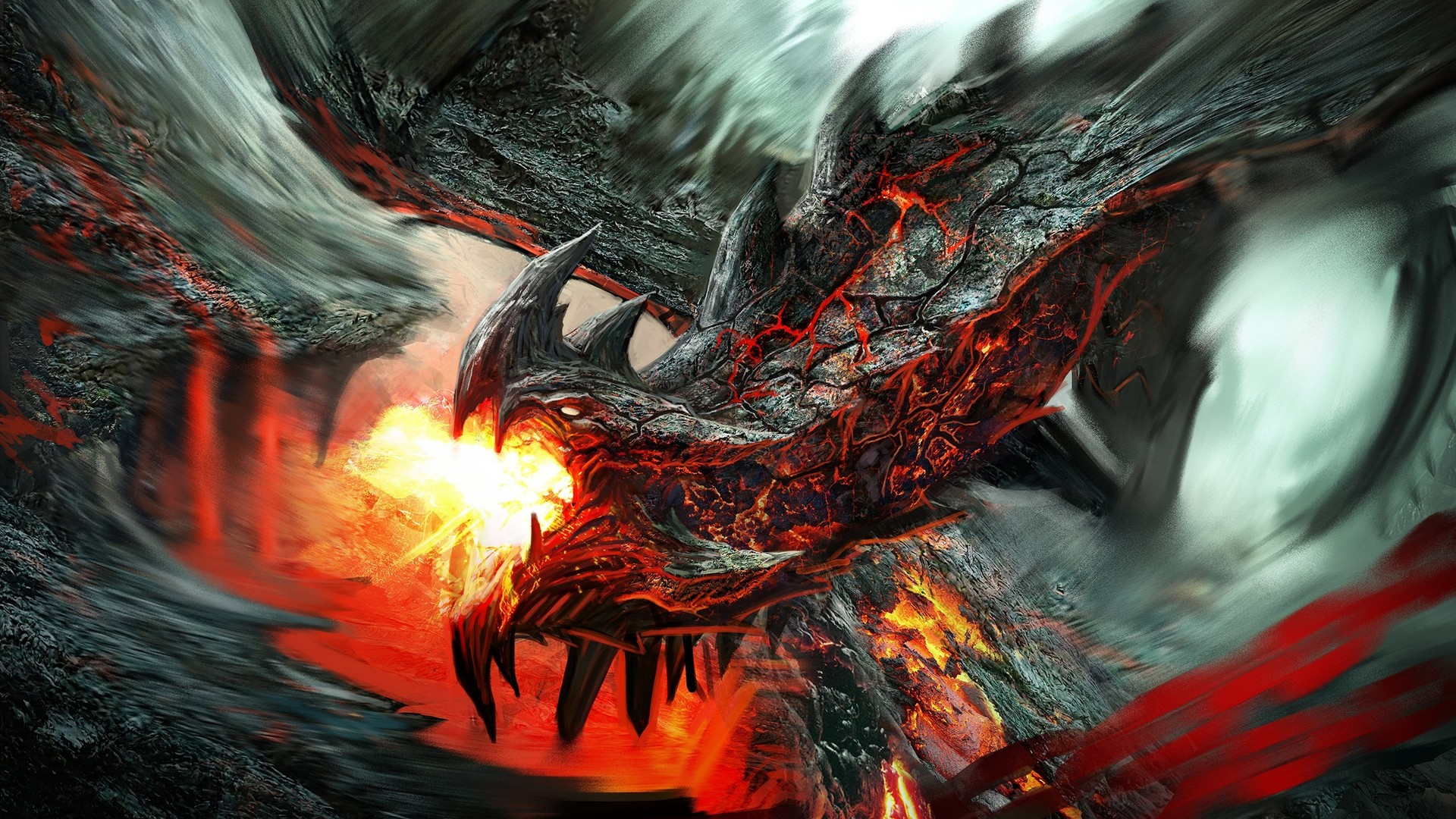 dragon fans out there I found these amazingly cool dragon wallpapers 1920x1080