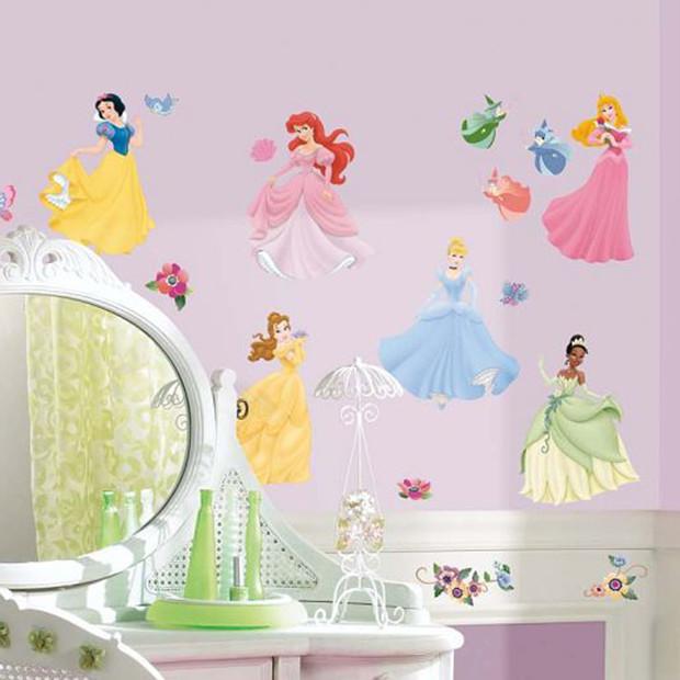 RoomMates Peel Stick Wall Decals   Disney Princess Target 620x620