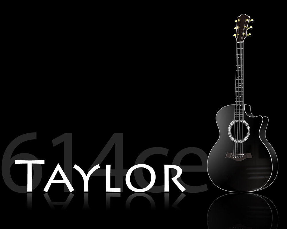 Taylor Guitars Logo Acoustic Guitar Wallpaper Gibson Guitars 1000x800