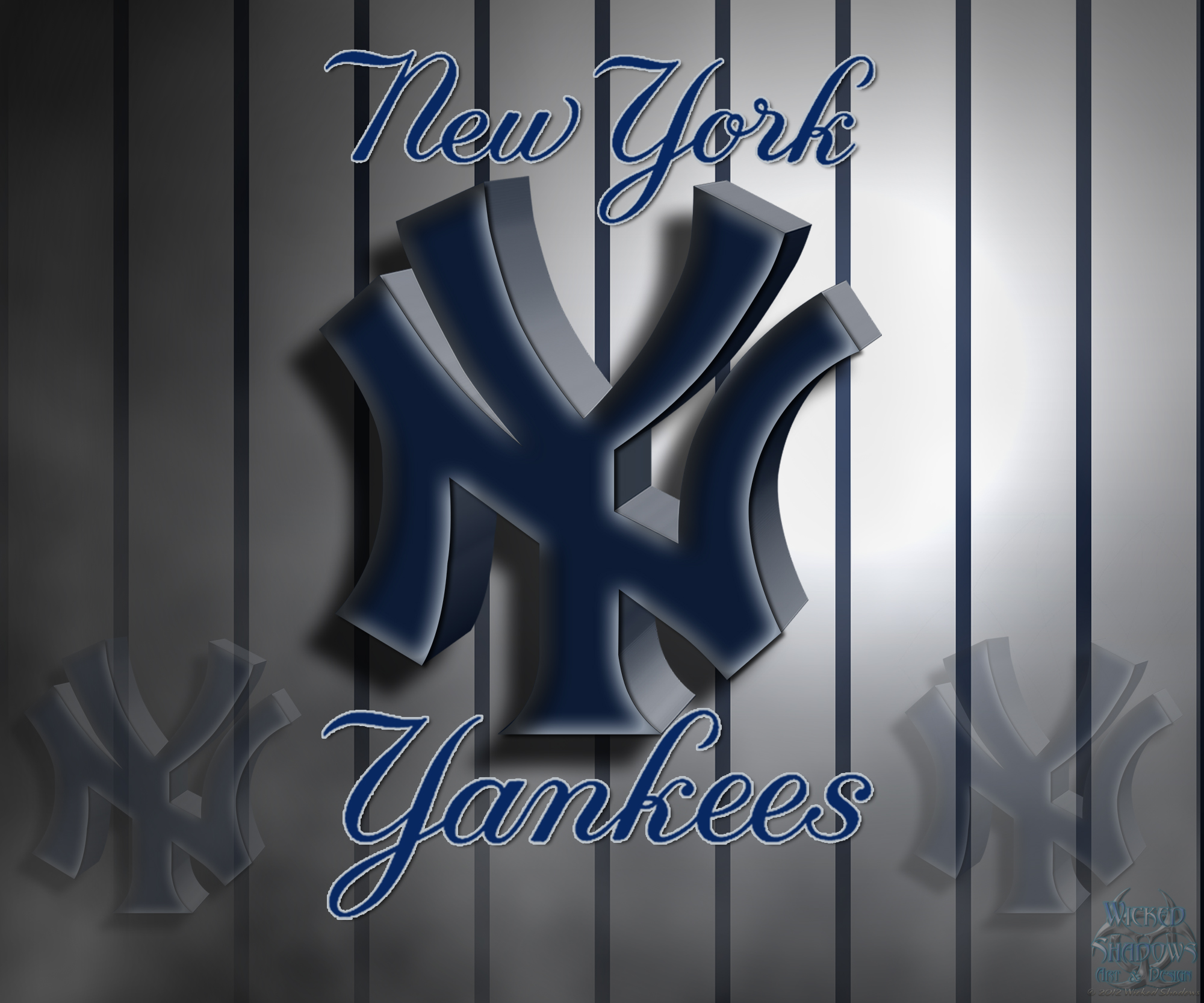 Yankees Logo Wallpapers 2000x1666