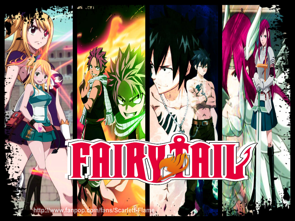 Fairy Tail Guild Wallpaper Hd Fairy Tail Team Natsu ...