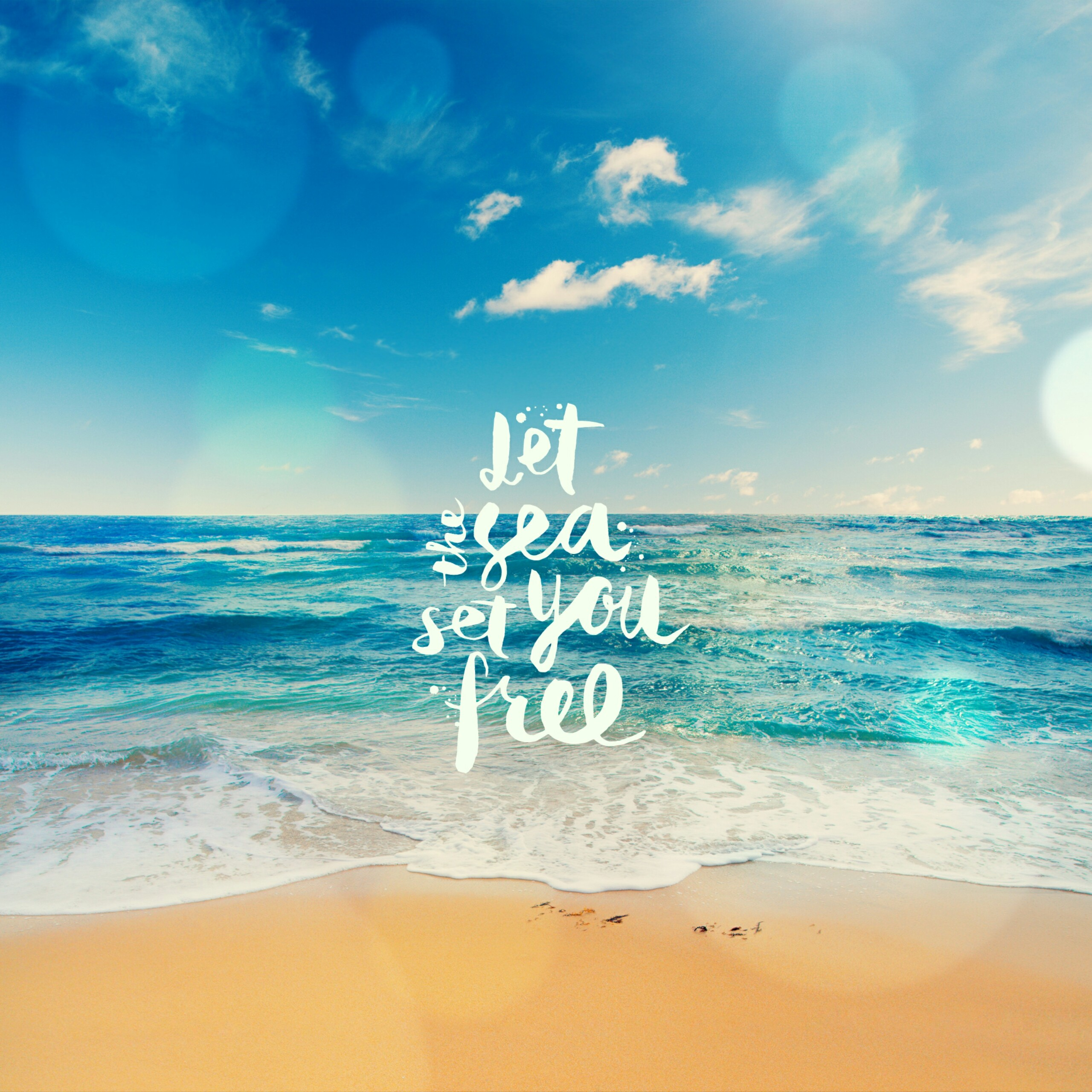 18 Beach Quotes Wallpapers On Wallpapersafari