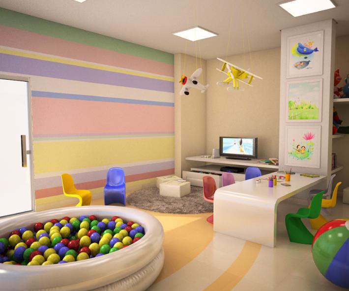 playroom design tips bitmellow wallpaper kids playroom 710x591