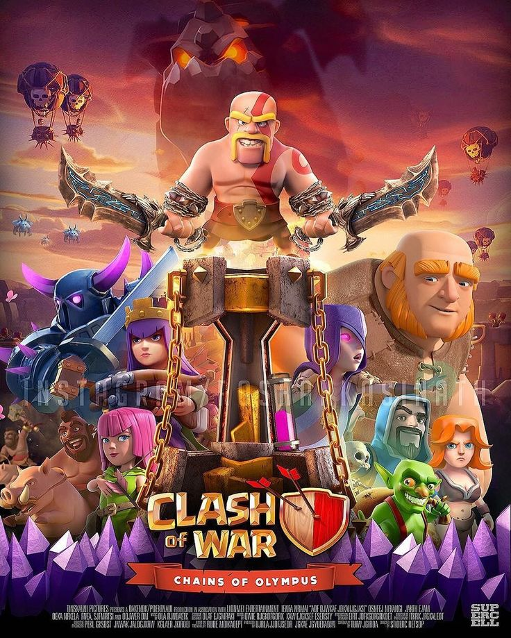 Clash of clans wizard wallpaper