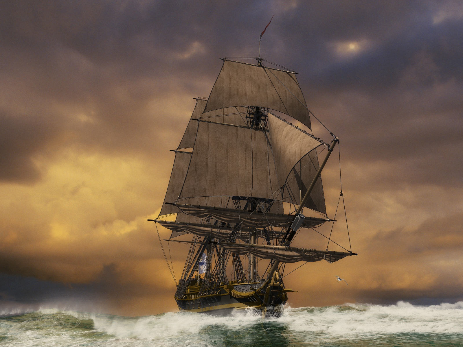Great Sailing Ships 3D   Photo 11 of 36 phombocom 1600x1200