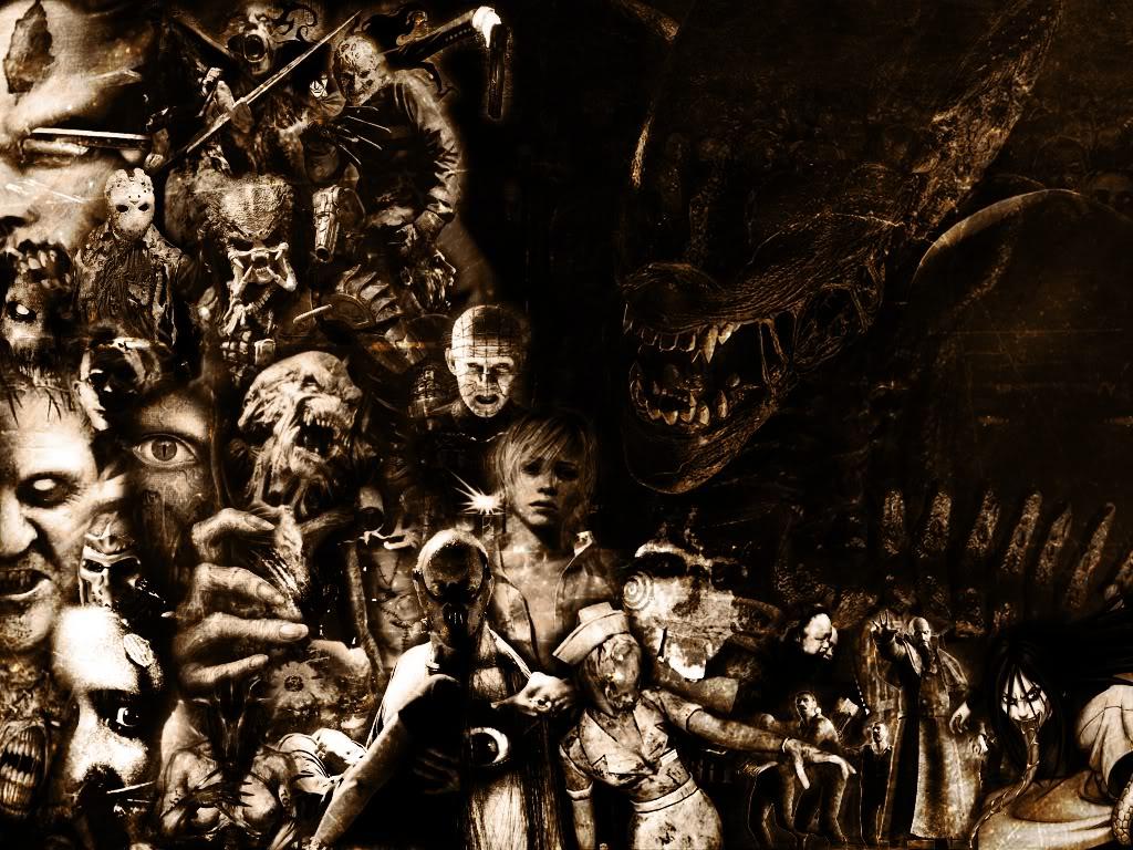 Horror Movies Wallpaper 1024x768