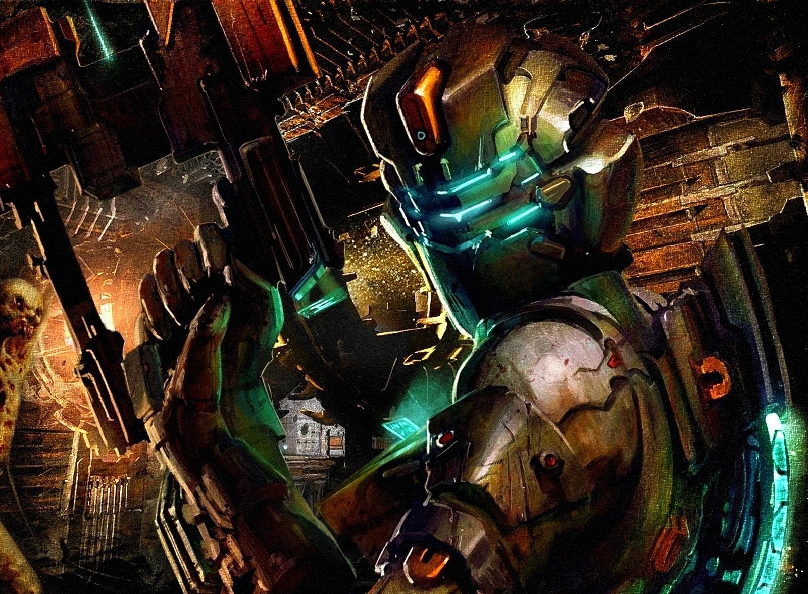 Dead Space 2 Game Art wallpaper 1600x1176   Fondo hd 2666 1600x1176