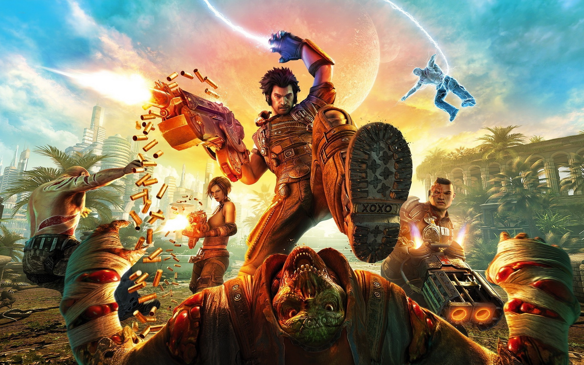 Bulletstorm 2011 Game Wallpapers HD Wallpapers 1920x1200