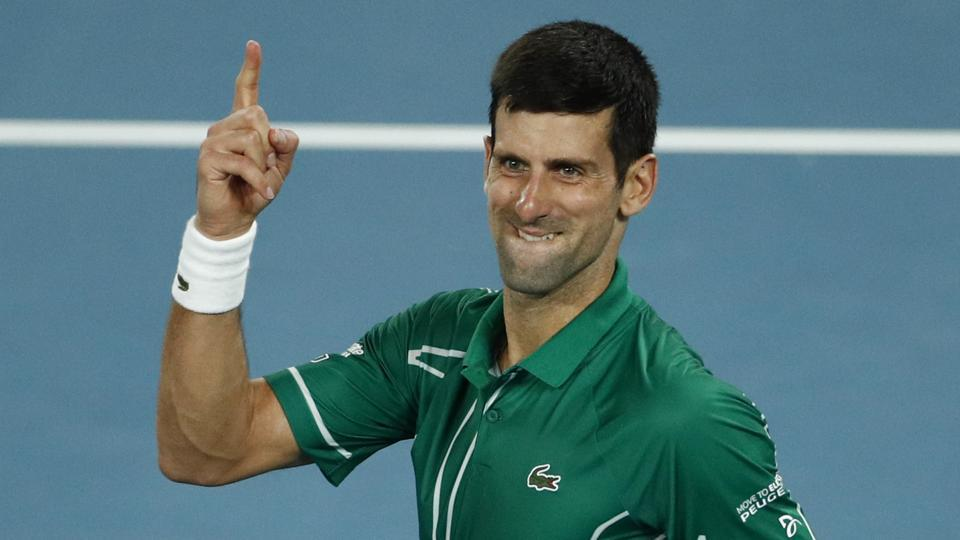 Australian Open 2020 Novak Djokovic powers past Roger Federer 960x540