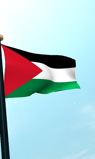 View bigger   Palestine Flag 3D Wallpaper for Android screenshot 307x512