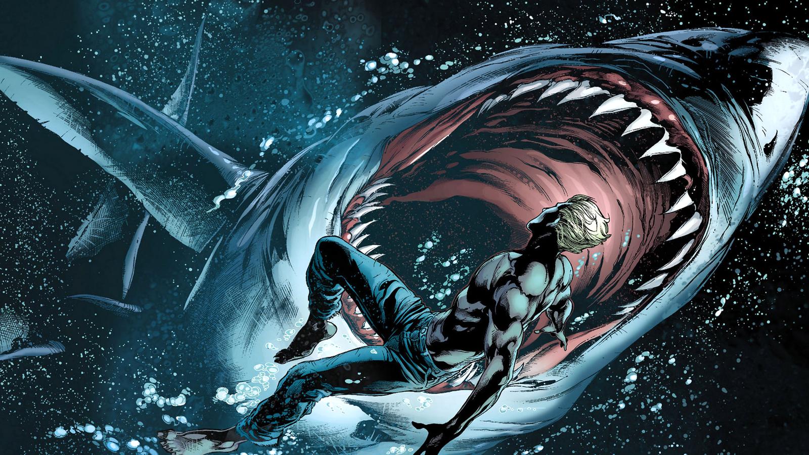 Comic Wallpapers Aquaman Wallpaper 1600x900