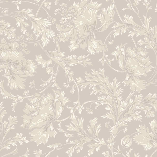 Tan Purple CS8665 Floral Damask Wallpaper   Traditional Wallpaper 650x649