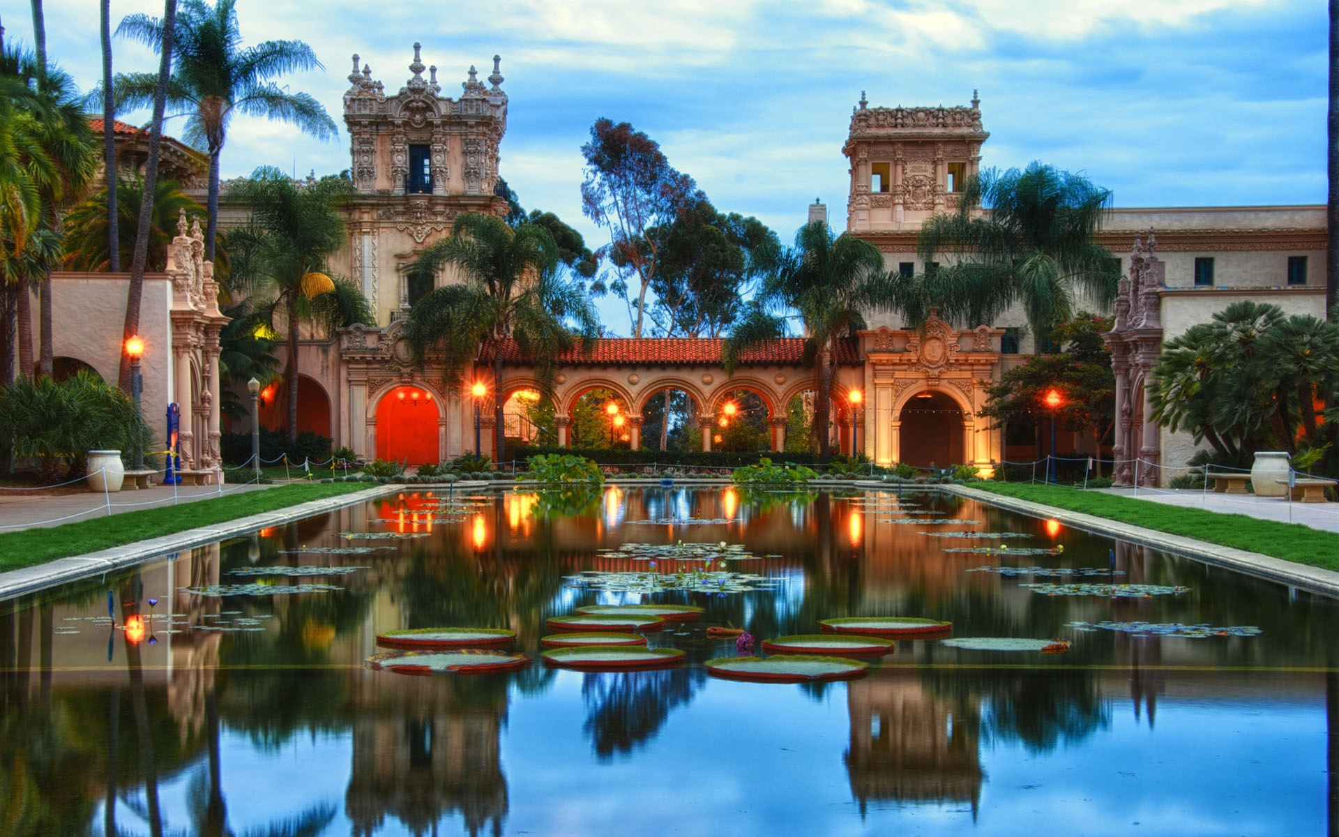 Download wallpaper 1920x1200 balboa park san diego california 1920x1200