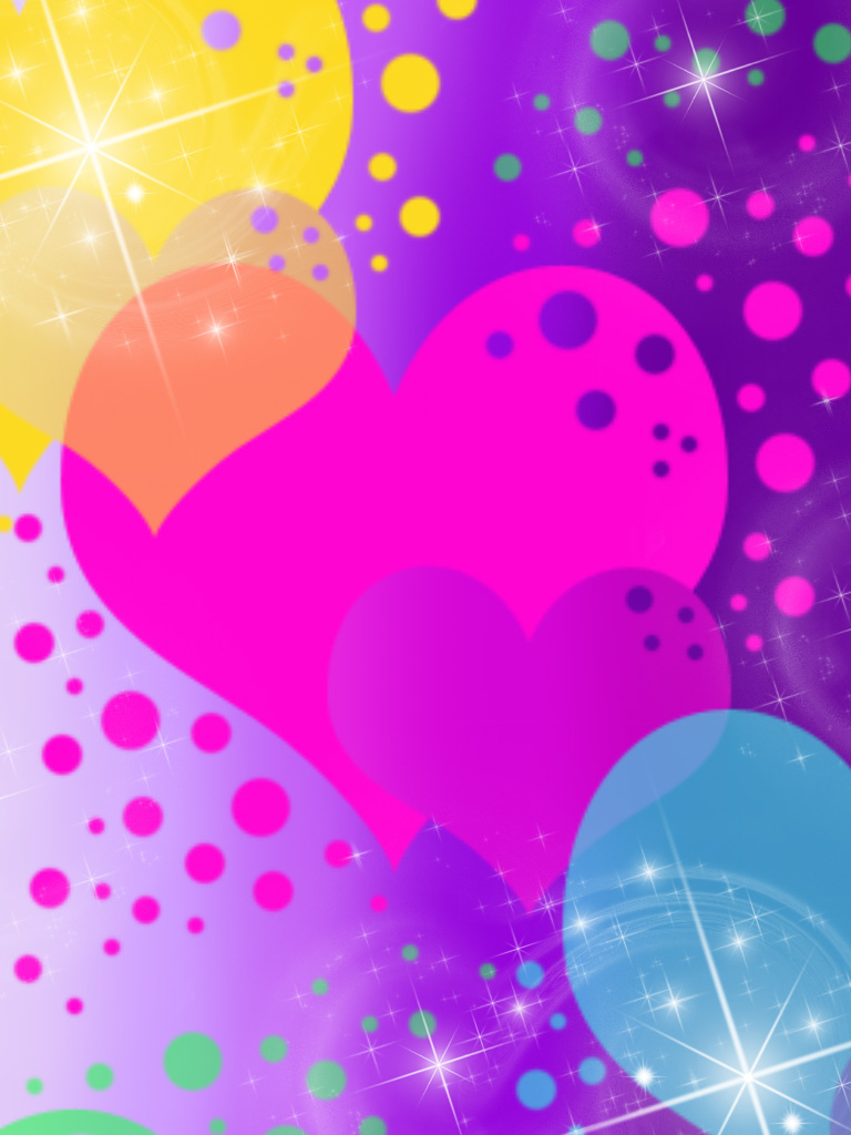 rainbow glitter heart backgrounds pictures to pin on