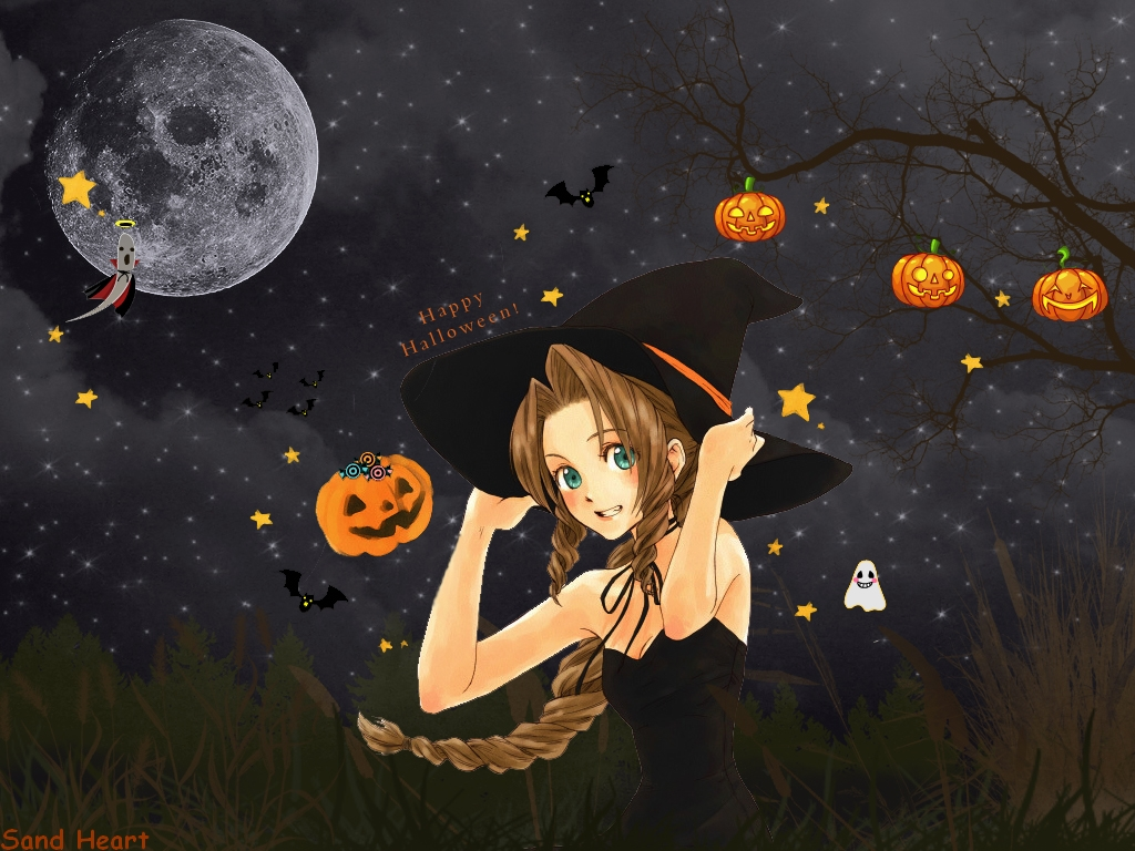 Halloween Anime Wallpaper 1024x768