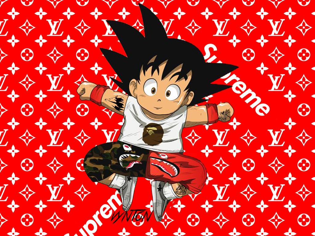 Baby Supreme Goku by Vyntondeviantartcom 1024x768