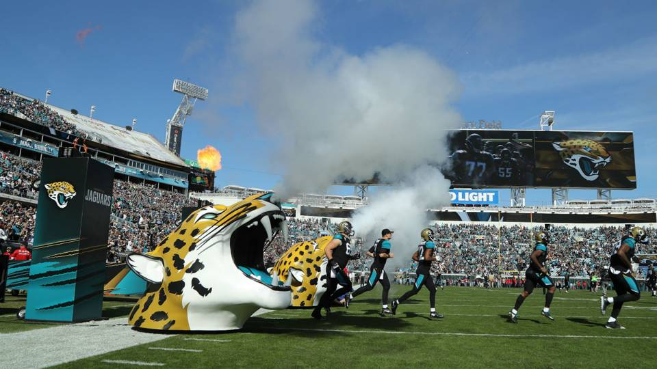LOOK Jaguars unveil new uniforms for 2018 NFL Sporting News 960x540
