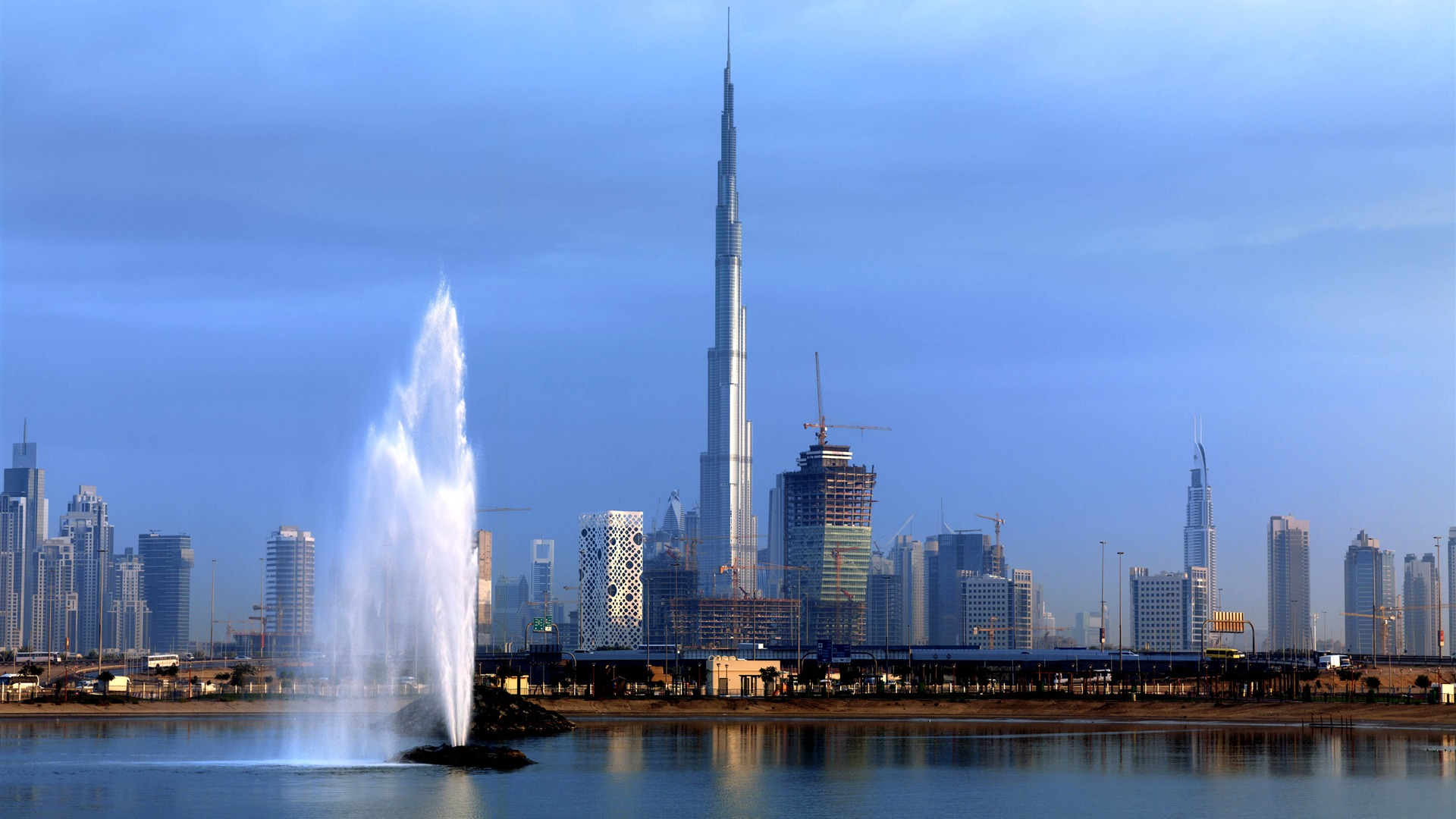 Burj Khalifa Wide Wallpaper   Travel HD Wallpapers 1920x1080