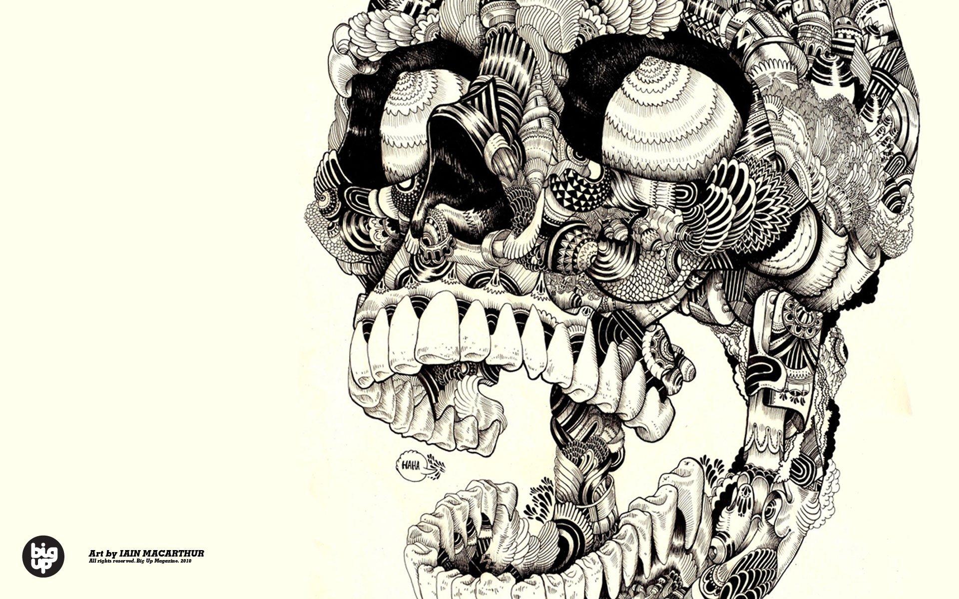 Skulls artwork sugar skulls wallpaper 1920x1200 292594 1920x1200