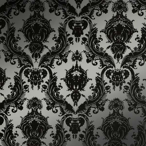 Blue Rose Wallpaper Silver Wallpaper 600x600