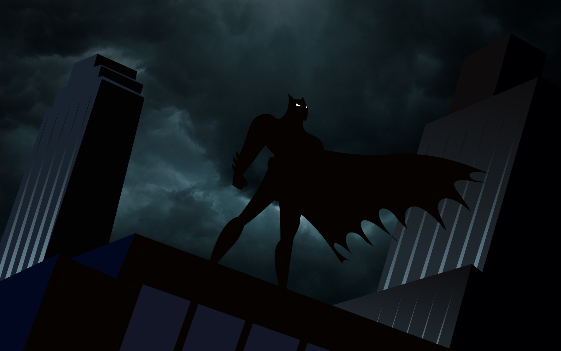 batman animated series wallpaper desktop keyword original 1920x1200