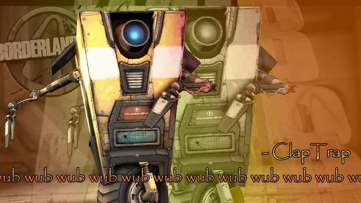 Claptrap Wallpapers 1366x768