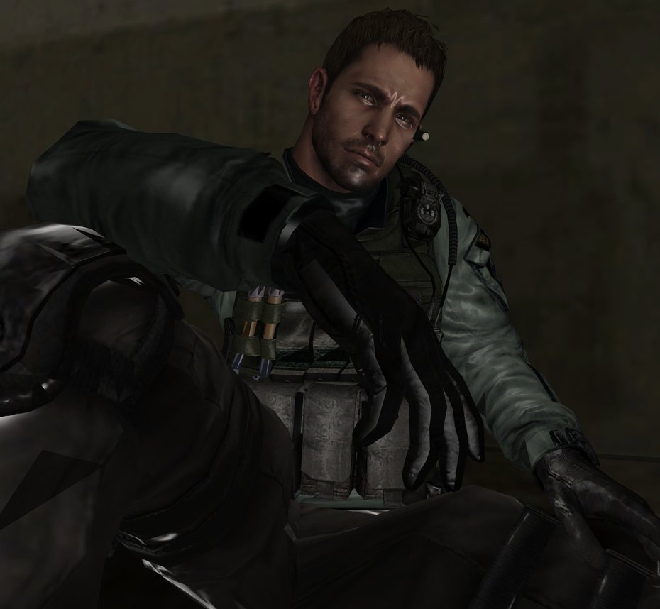 Resident Evil Hd Wallpaper: Chris Redfield Wallpaper