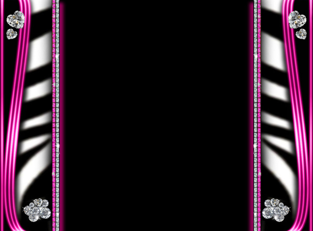 Pink and Black Wallpaper Border - WallpaperSafari