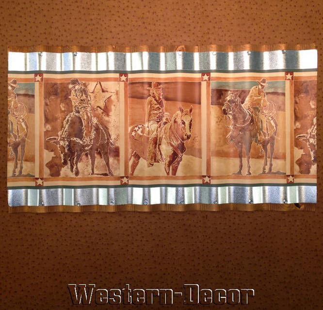 Western Horse Cowgirl Cowboy Rodeo Wallpaper Border Picture eBay 666x639