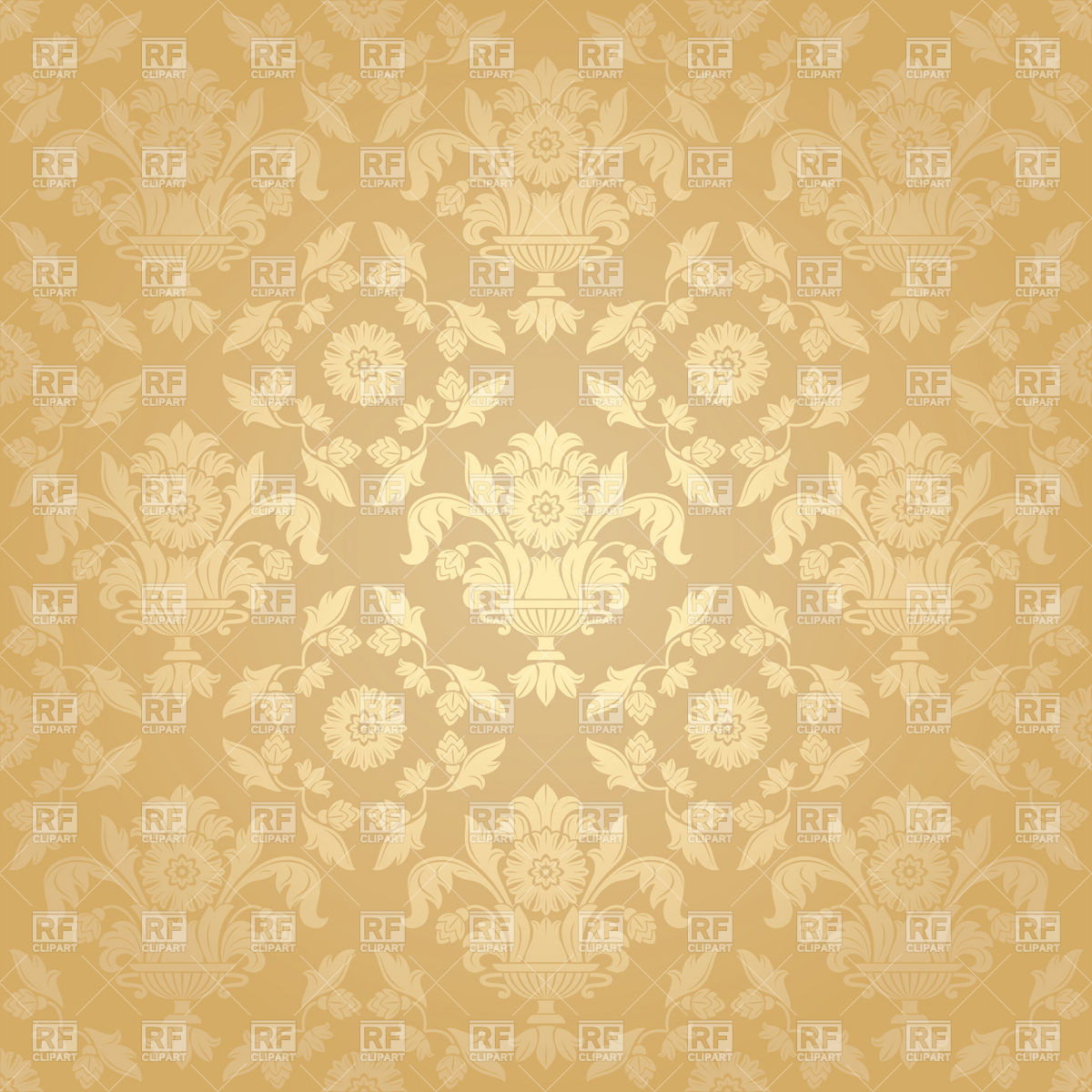 Free Download Seamless Beige Victorian Wallpaper With Floral