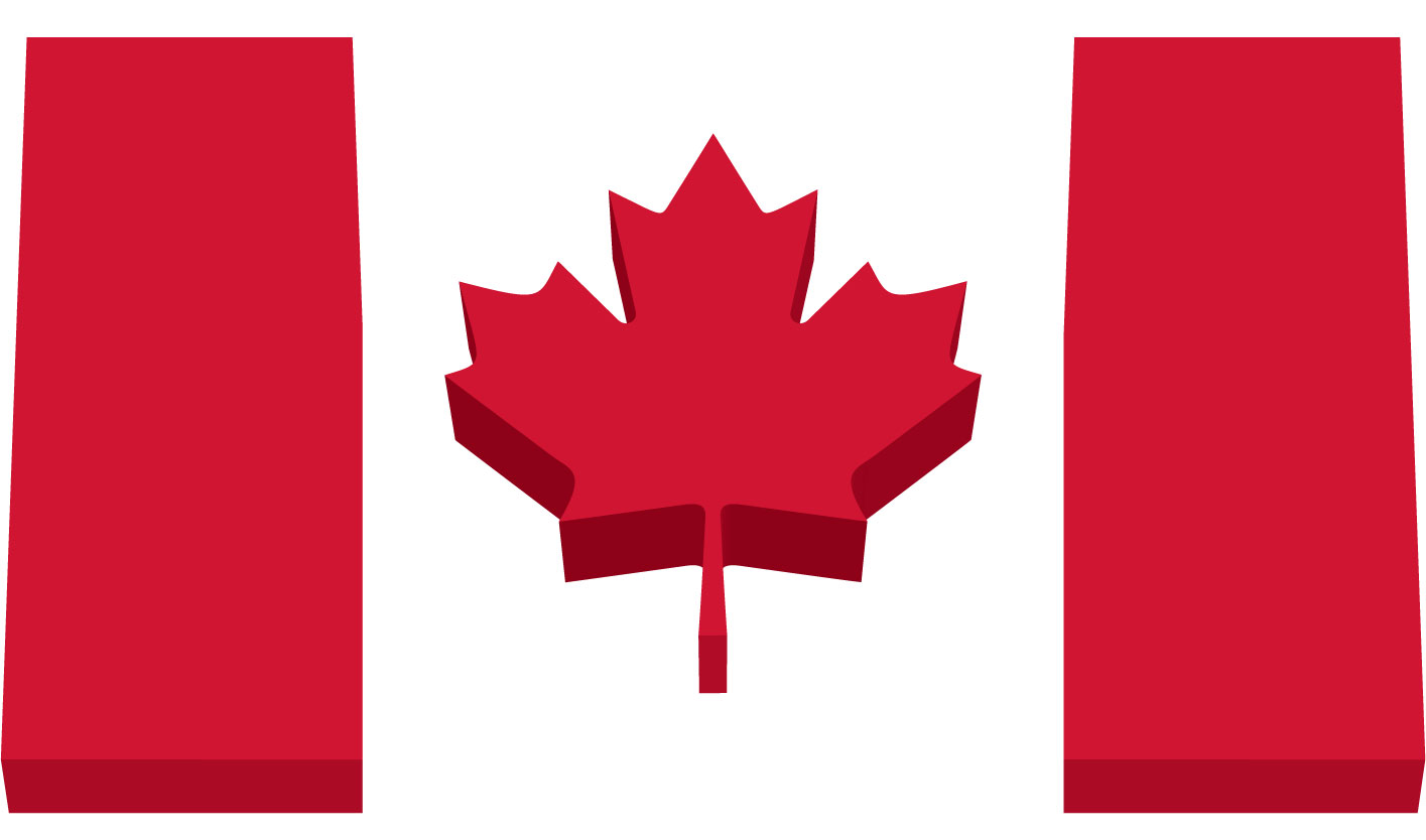 Canada Flag Pictures 1415x834